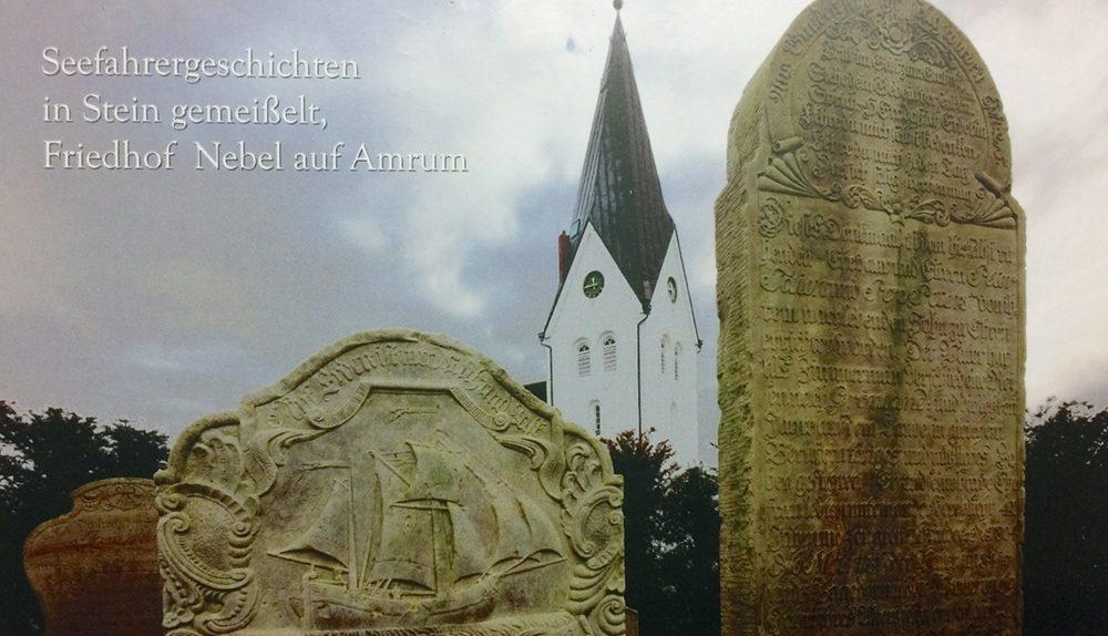 Postkarte mit Friedhofsmotiv