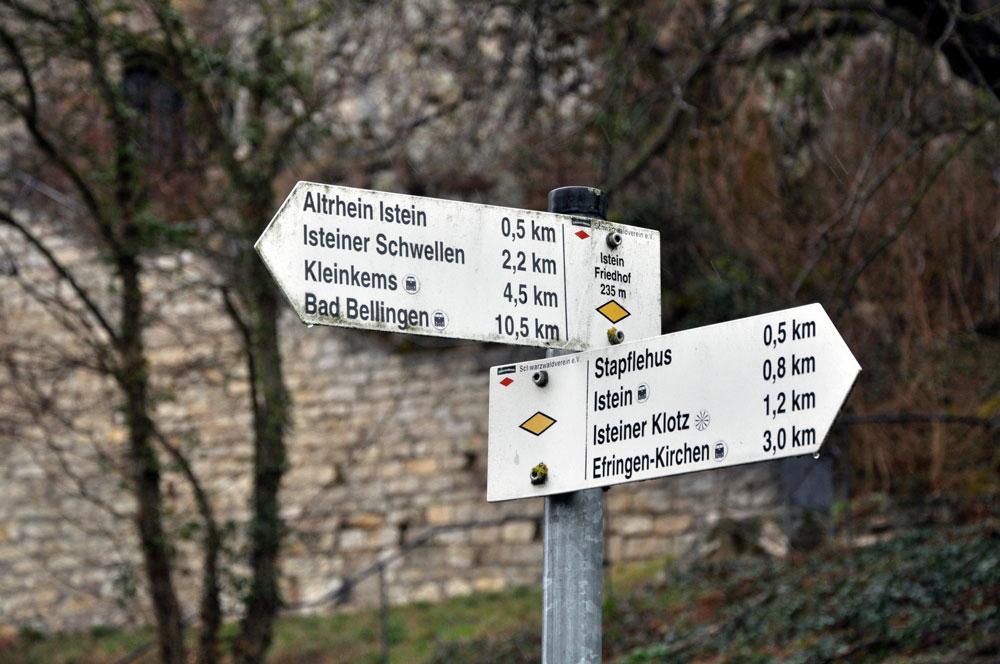 Rund um den (Fels-)Klotz gibt es einige Wanderweg