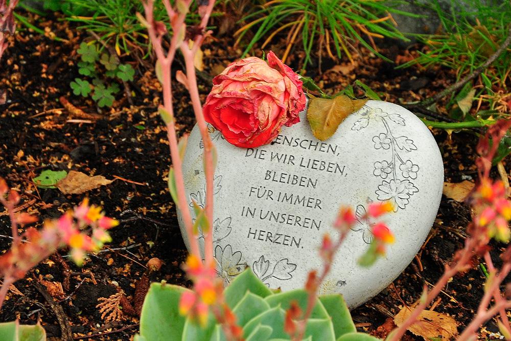 Friedhof im Regen, Meersburg am Bodensee