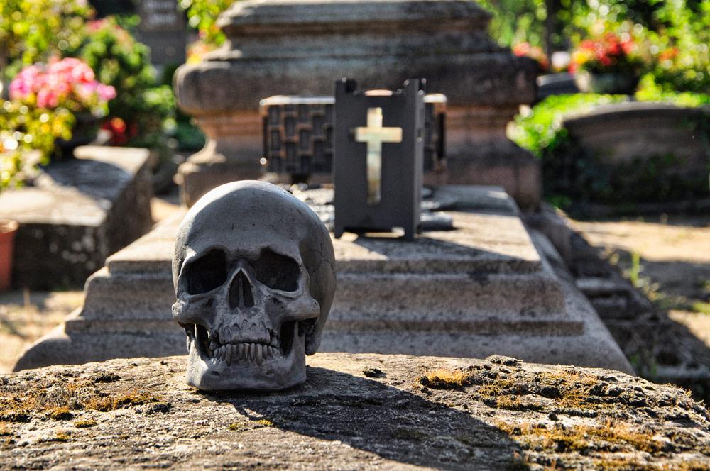 Nürnberg - St. Johannis, Friedhof mit Auszeichung