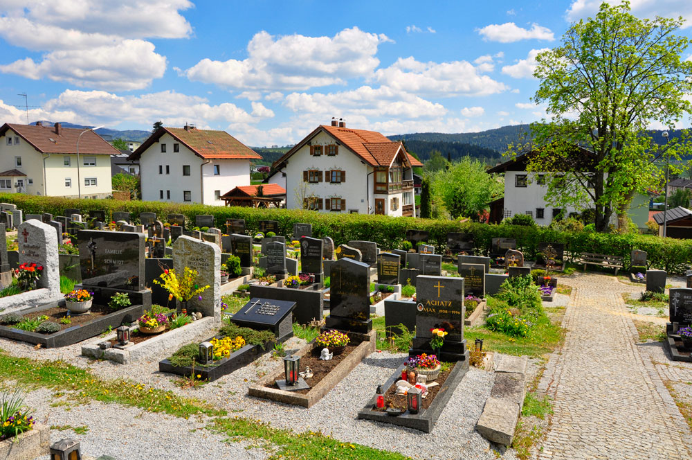 Friedhof in Zwiesel