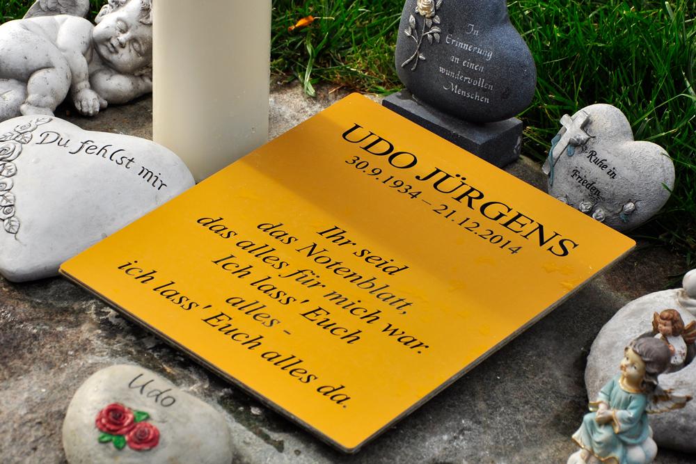 Zentralfriedhof Wien, Grabstätte von Udo Jürgen
