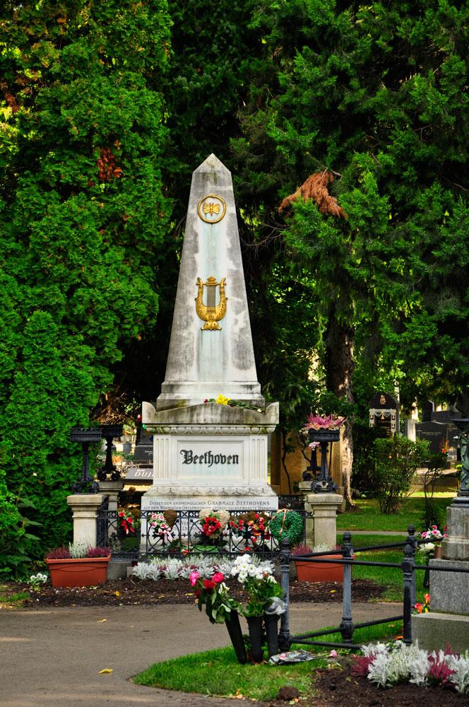 Zentralfriedhof Wien, Ehrengrab von Beethoven