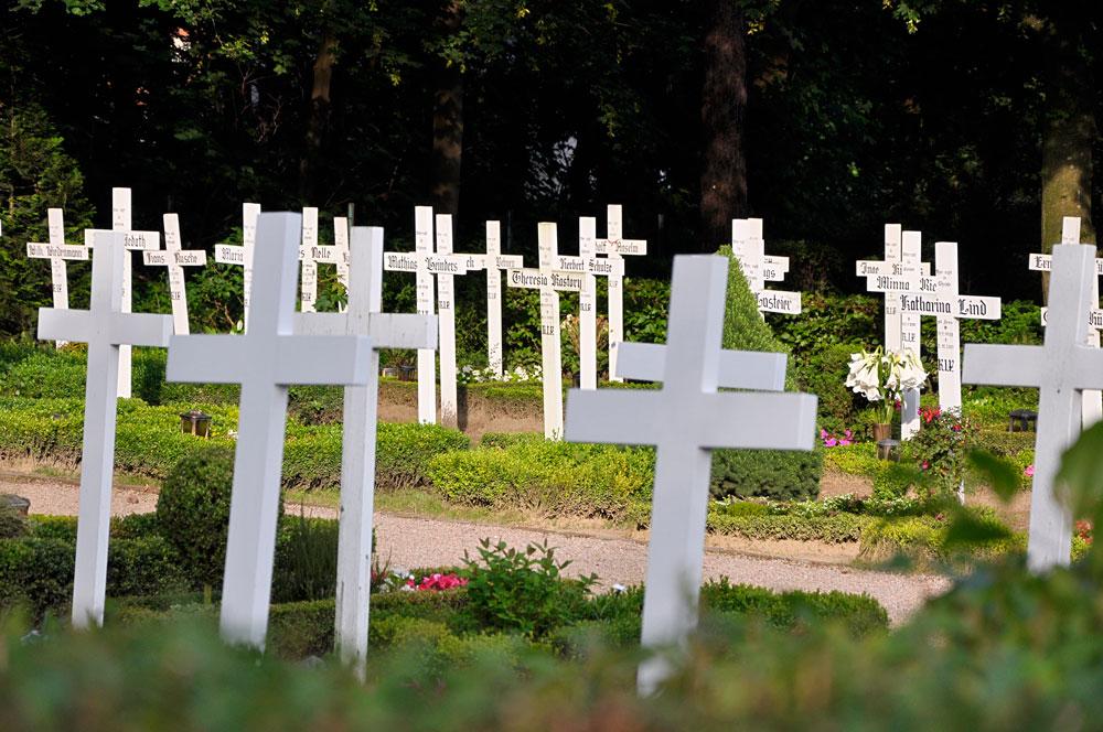 Friedhof der weißen Kreuze, Waldfeucht-Haaren