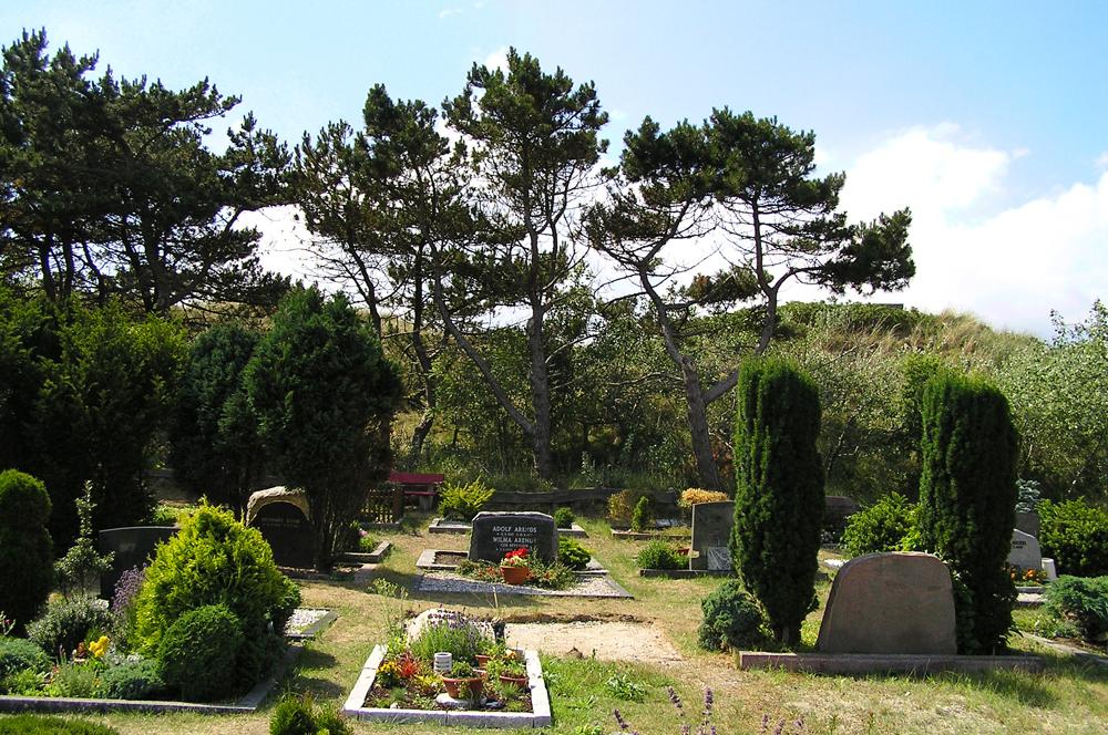 Friedhof in den Dünen, Insel Juist