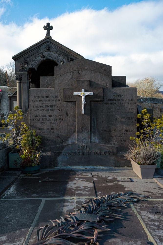 Familiengrabstätte Michelin, Orcines, Frankreich