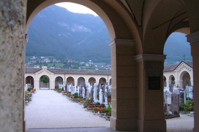 Friedhof in Kaltern, Südtirol