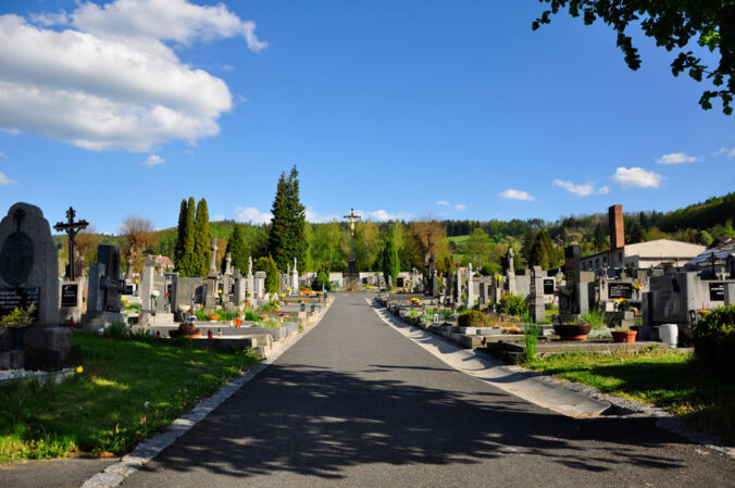 Friedhof in Sušice, Tschechien