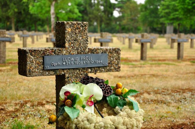Soldatenfriedhof Lommel, Belgien, Ludwig Pröll