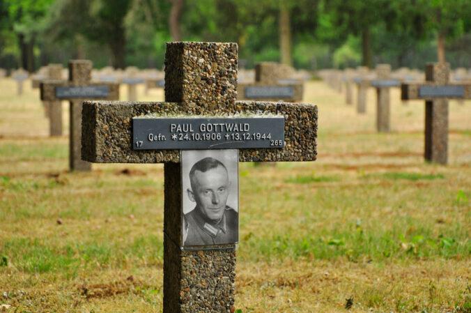 Soldatenfriedhof in Lommel, Paul Gottwald