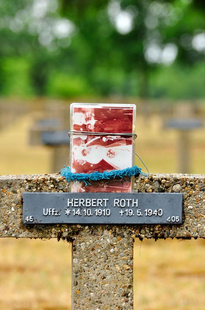 Soldatenfriedhof in Lommel, Belgien, Herbert Roth