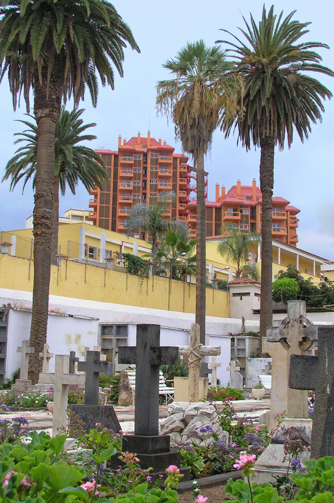 Friedhof in Puerto de la Cruz