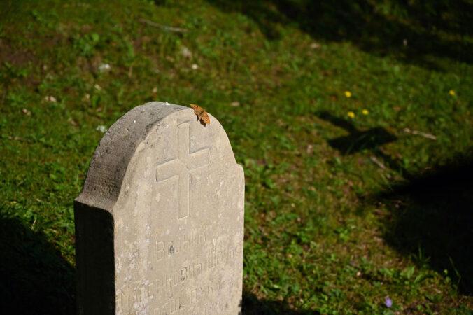 Friedhof Gänsewag, Waldfriedhof Gänsewag, Schwäbische Alb, Truppenübungsplatz