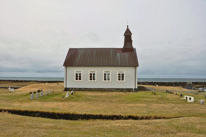 Friedhof am Meer, Island, Strandarkirkja