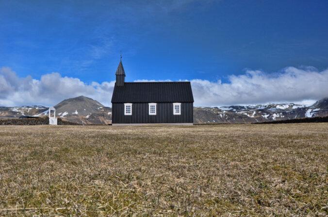 Friedhof am Meer, Island, Snæfellsnes