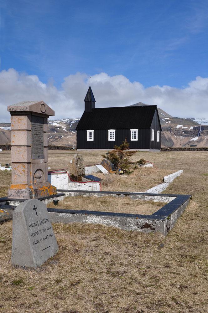 Friedhof am Meer, Island, Búðir